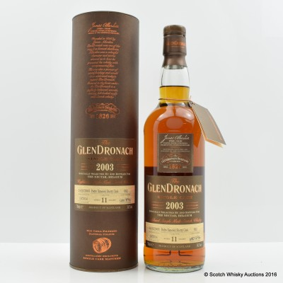 GlenDronach 2003 11 Year Old Single Cask #692