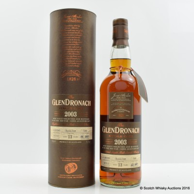 GlenDronach 2003 13 Year Old Single Cask #5490 The Nectar 10th Anniversary