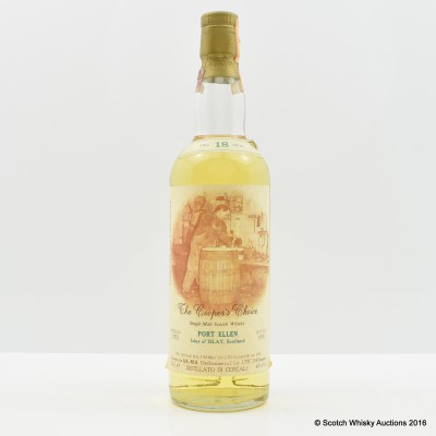 Port Ellen 1975 18 Year Old The Cooper's Choice