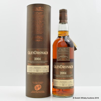 GlenDronach 2004 12 Year Old Single Cask #3340 For Vinothek Massen