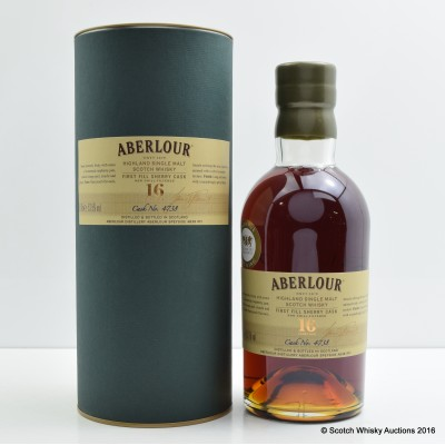 Aberlour 16 Year Old Single Cask #4738