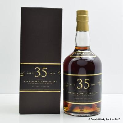 Glenallachie 35 Year Old Single Malts of Scotland Anniversary Selection