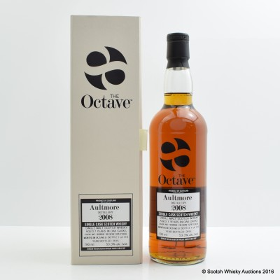 Aultmore 2008 7 Year Old Duncan Taylor The Octave