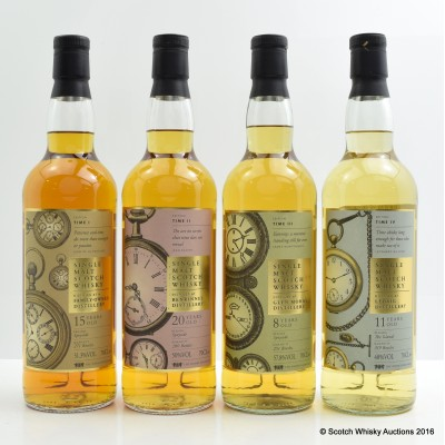 Speciality Drinks Time Series 4 x 70cl