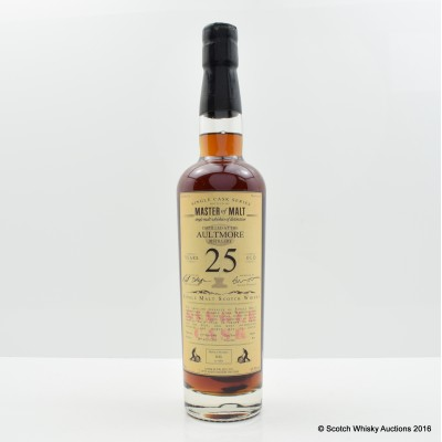 Aultmore 1990 25 Year Old Master of Malt