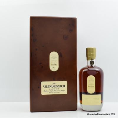 Glendronach Grandeur 25 Year Old Batch #7