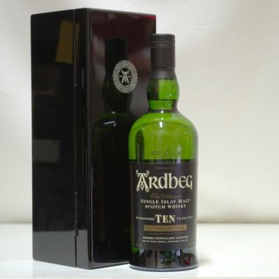 Ardbeg Black Mystery 10 Year Old 1st Edition
