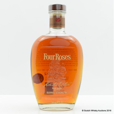 Four Roses Small Batch Barrel Strength 2015 Release