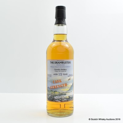 Clynelish 1997 15 Year Old Cask Strength Drambusters