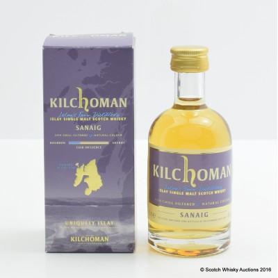Kilchoman Sanaig Miniature 5cl
