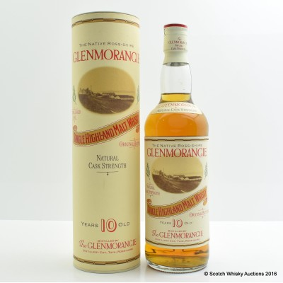 Glenmorangie 10 Year Old Cask Strength 75cl