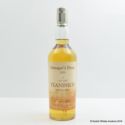 Manager's Dram Teaninich 17 Year Old