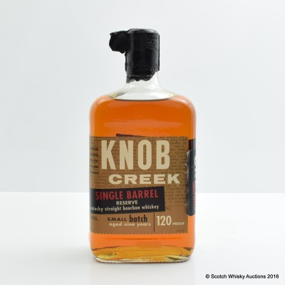 Knob Creek 9 Year Old Single Barrel 75cl
