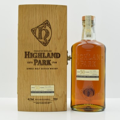 Highland Park 30 Year Old for Maxxium Global Travel Retail Team