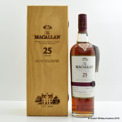 Macallan 25 Year Old