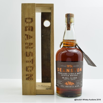 Deanston 1974 37 Year Old Vintage Edition
