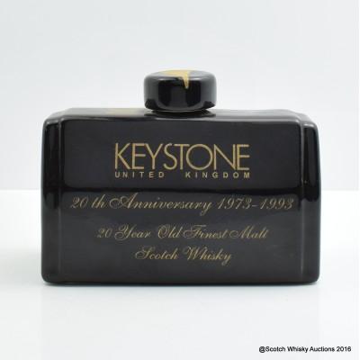 Keystone 20 Year Old Ceramic Decanter