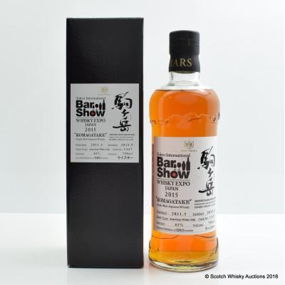 Mars Komagatake 2011 Single Cask for Whisky Expo Japan 2015