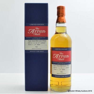 Arran Napoleon Cognac Cask Finish