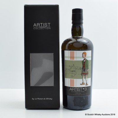 Edradour 2003 10 Year Old Artist #3 by La Maison du Whisky