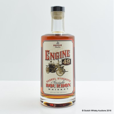 Amador Engine 49 3 Year Old Barrel Strength Bourbon 75cl