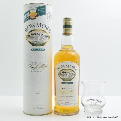 Bowmore Legend with Glass