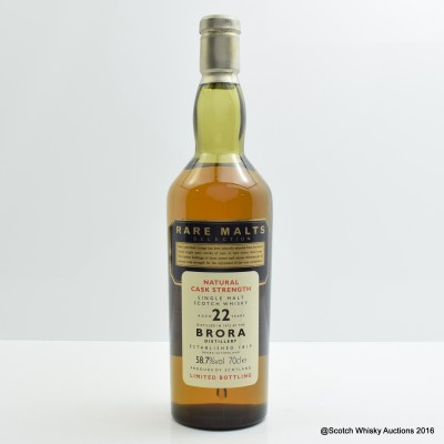 Rare Malts Brora 1972 22 Year Old