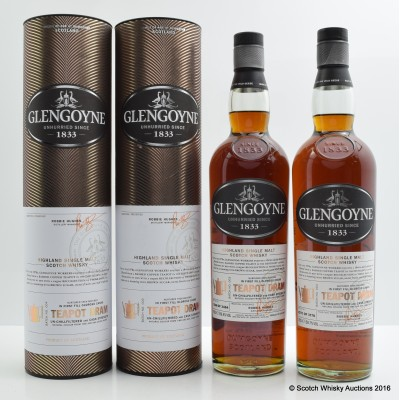 Glengoyne Tea Pot Dram Batch #3 & Glengoyne Tea Pot Dram Batch #4