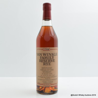 Pappy Van Winkle 13 Year Old Family Reserve Rye 75cl