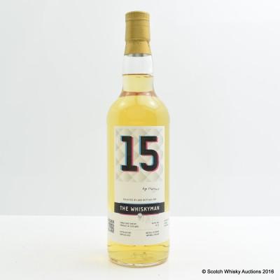 Ledaig 1997 15 Year Old Whiskyman