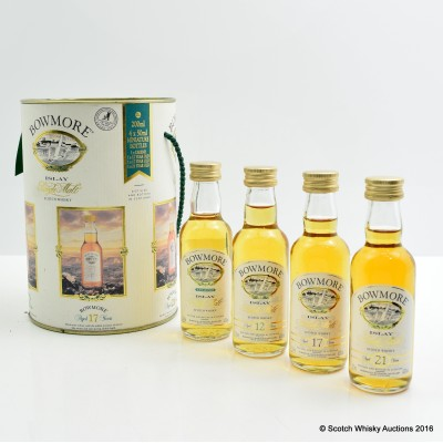 Bowmore Collection Mini 4 x 5cl