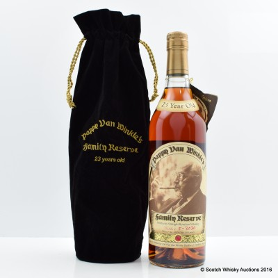 Pappy Van Winkle 23 Year Old Family Reserve 75cl