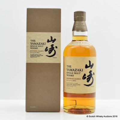 Yamazaki Bourbon Barrel 2012 Release