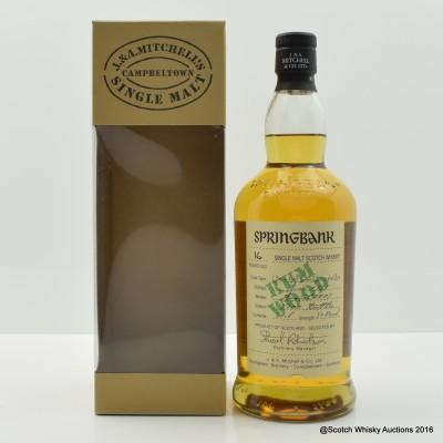 Springbank 1991 16 Year Old Rum Wood