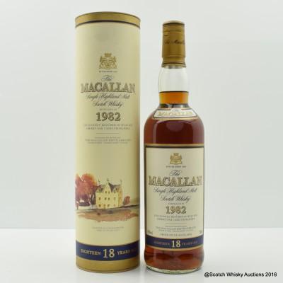 Macallan 18 Year Old 1982