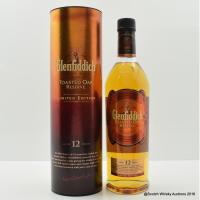Glenfiddich 12 Year Old Toasted Oak