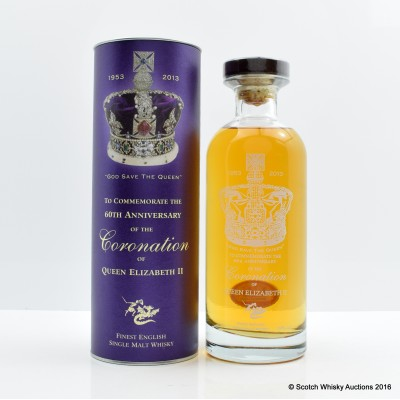 English Whisky Co 60th Anniversary Of The Coronation Of Queen Elizabeth II