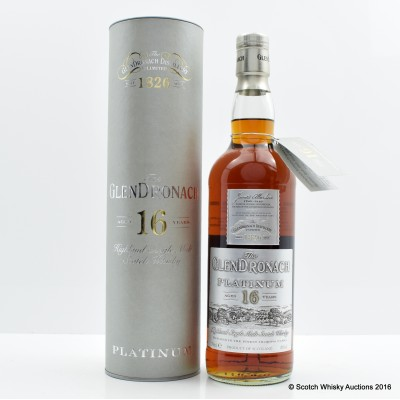 Glendronach 16 Year Old Platinum