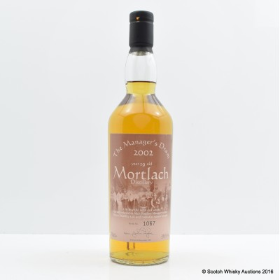 Manager's dram Mortlach 19 Year Old