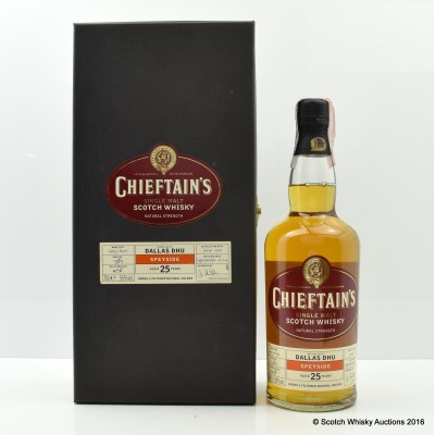 Dallas Dhu 1979 25 Year Old Chieftain's