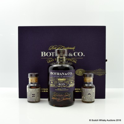 Botran & Co 75th Anniversary Gift Set 50cl including Matching Minis 2 x 5cl