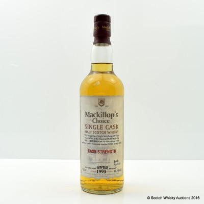 Imperial 1990 Mackillop's Choice