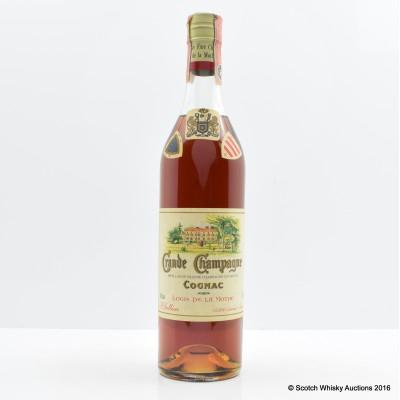 Logis De La Mothe Grande Champagne Cognac