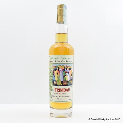Caroni 1991 21 Year Old High Spirits Collection