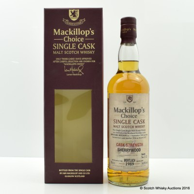 Mortlach 1989 Sherrywood Mackillop's Choice