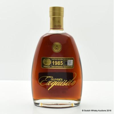 Oliver's Exquisito 1985 Rum