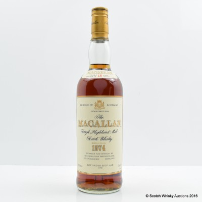 Macallan 1974 18 Year Old 75cl