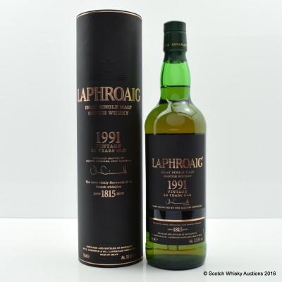 Laphroaig 1991 23 Year Old Vintage