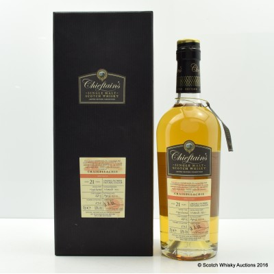Craigellachie 1991 21 Year Old Chieftains