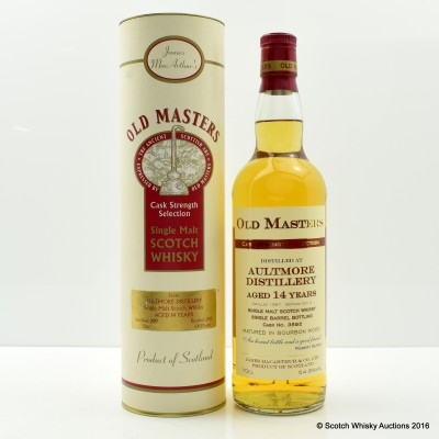 Aultmore 1997 14 Year Old Old Masters